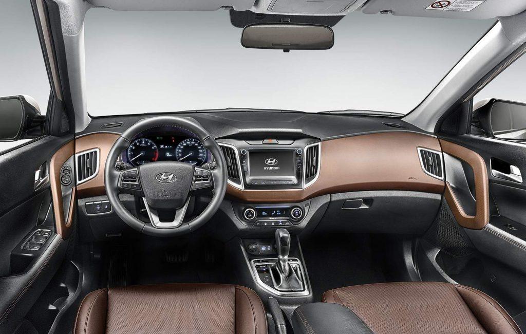 Novo Hyundai Creta 2020 - Itens de série, kit multimídia