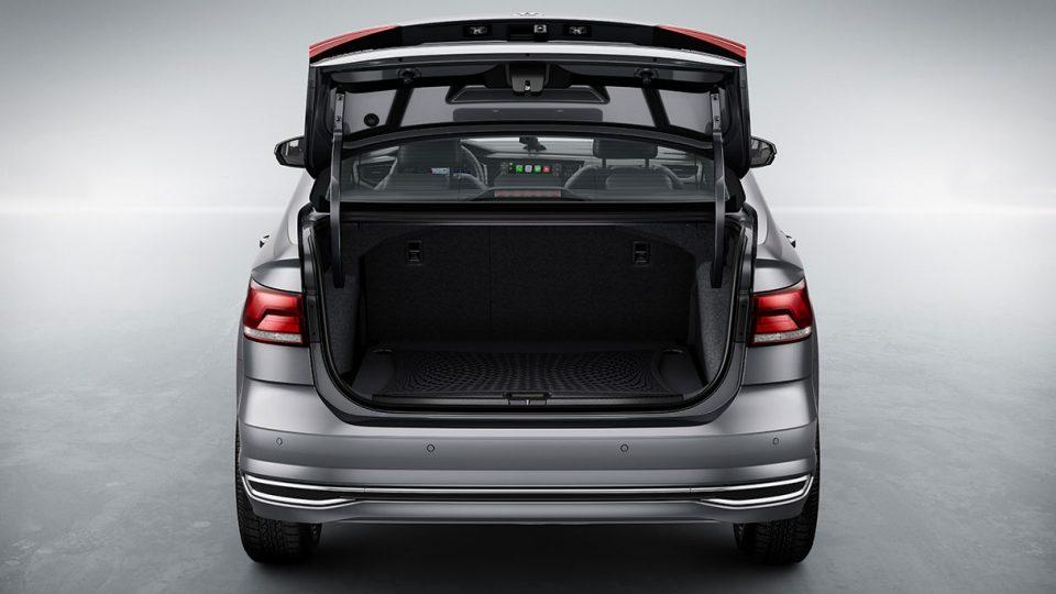 VW Virtus 2020 - porta malas