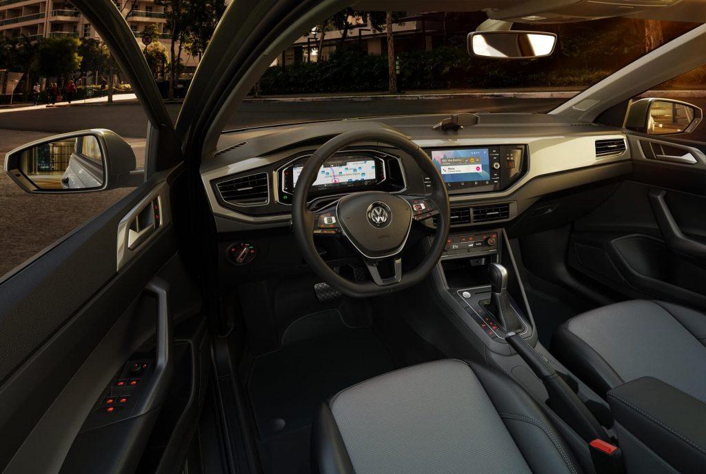 VW Virtus 2020 - Volante, interior, motor, novidades