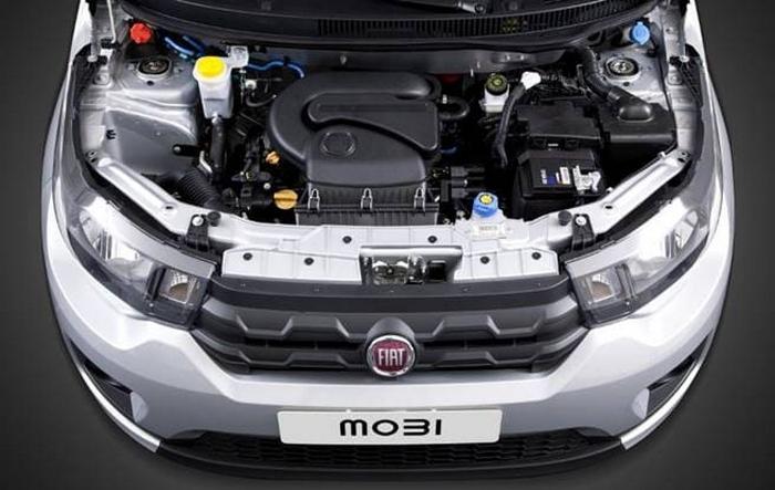 Novo Fiat Mobi 2020 - Motor