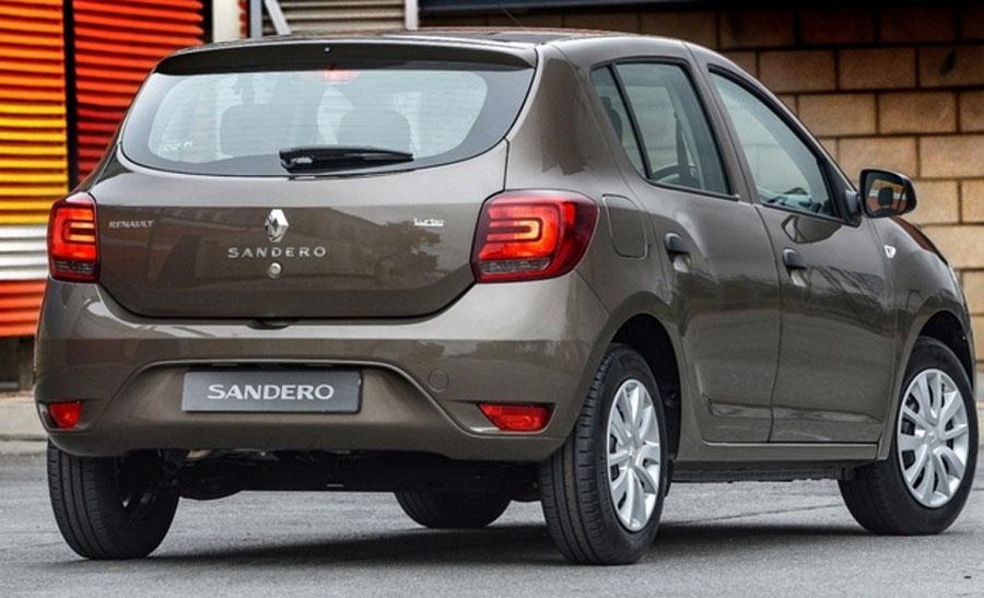 Novo Renault Sandero 2020 - Traseira