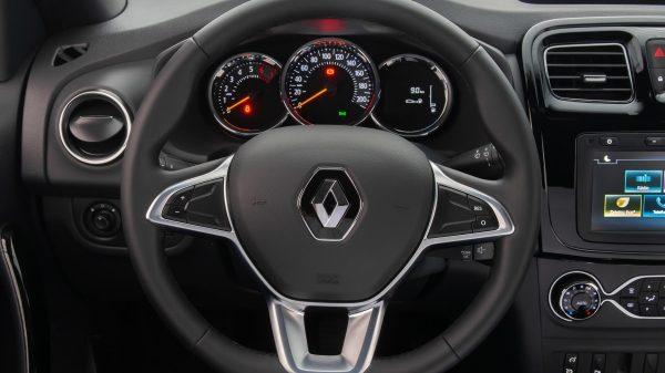 Novo Renault Sandero 2020 - Volante , painel