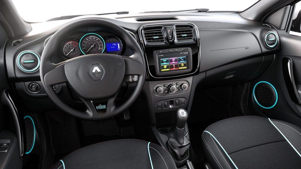 Sandero 2020 - Interior, por dentro