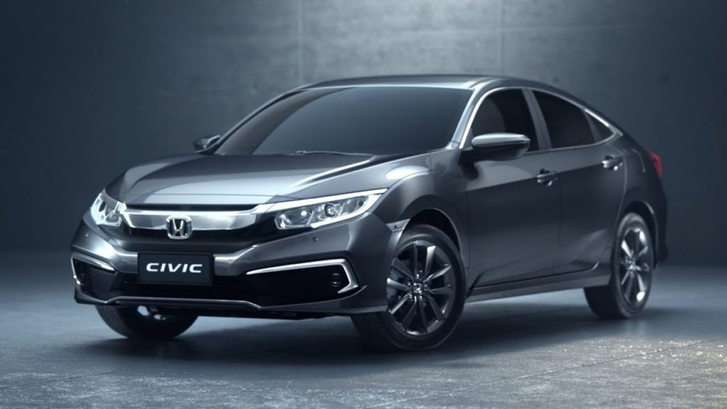 Novo Honda Civic 2020 - Frente