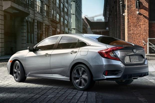 Novo Honda Civic 2020 - Traseira
