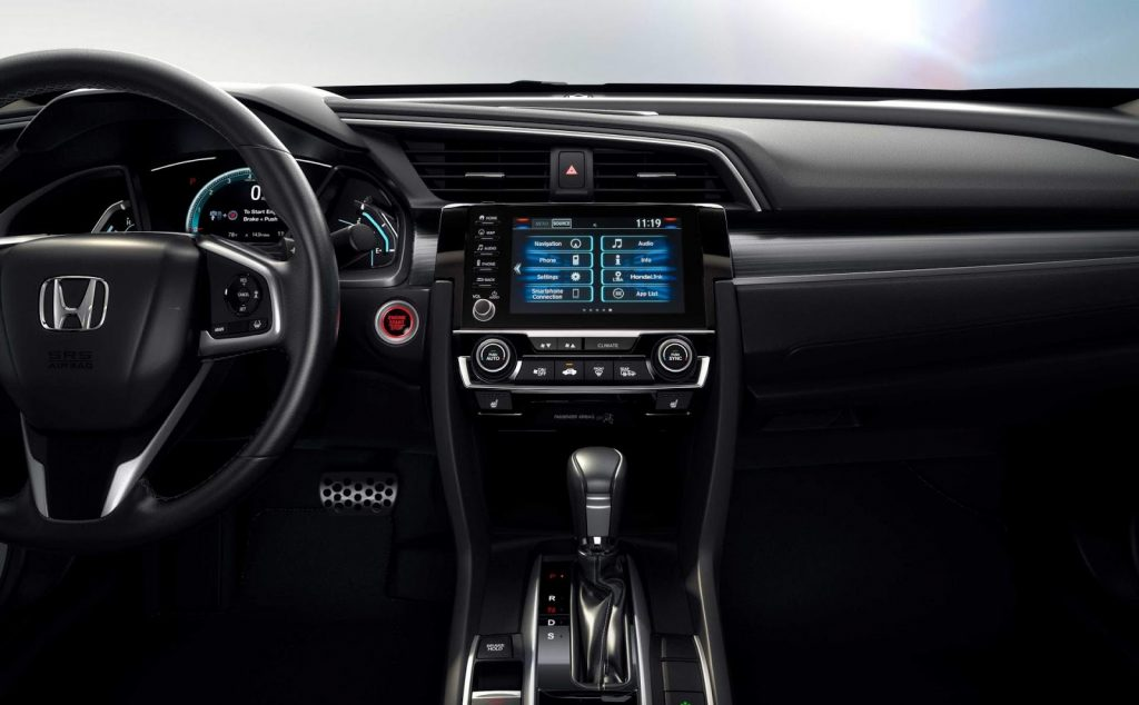 Civic 2020 - interior