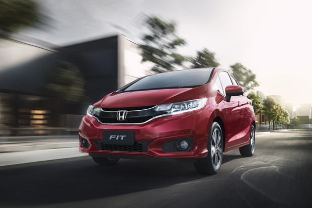 Novo Honda Fit 2020 - Frente, parte frontal