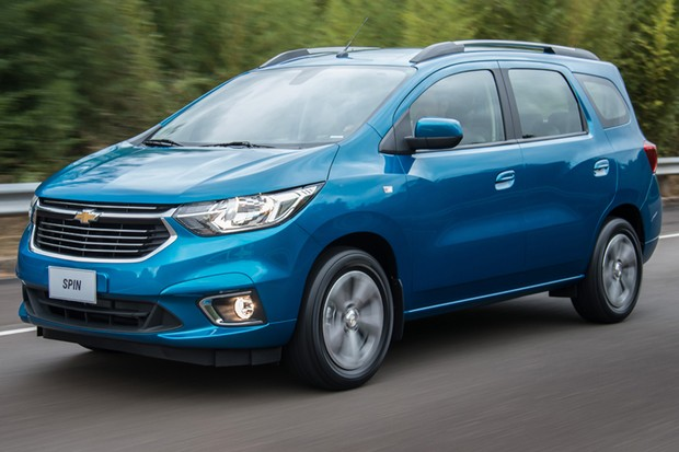 Novo Chevrolet Spin 2020  - frente