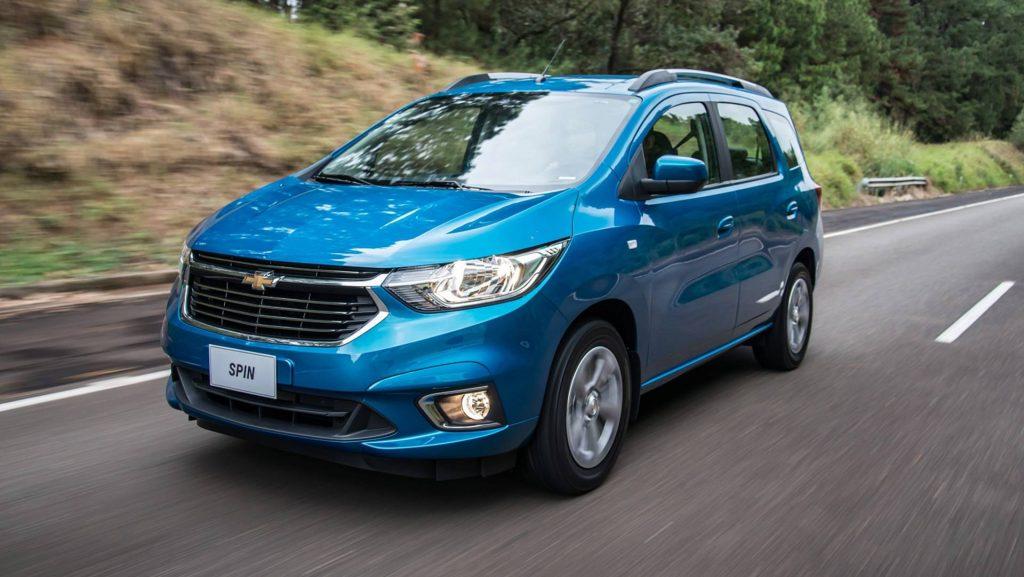 Novo Chevrolet Spin 2020  - o que mudou, novidades
