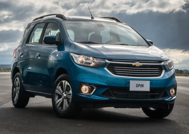 Novo Chevrolet Spin 2020  - Preço, valores