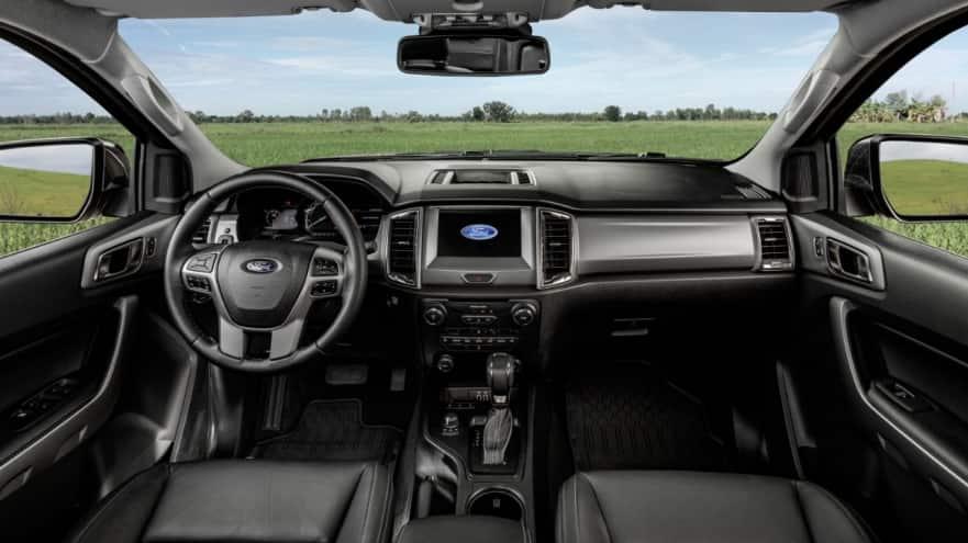 Nova Ford Ranger 2020 - Interior, por dentro, itens de série