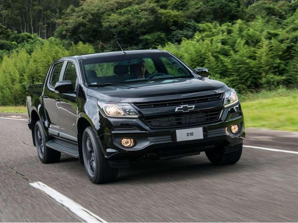 Nova Chevrolet S10 2020 - Frente