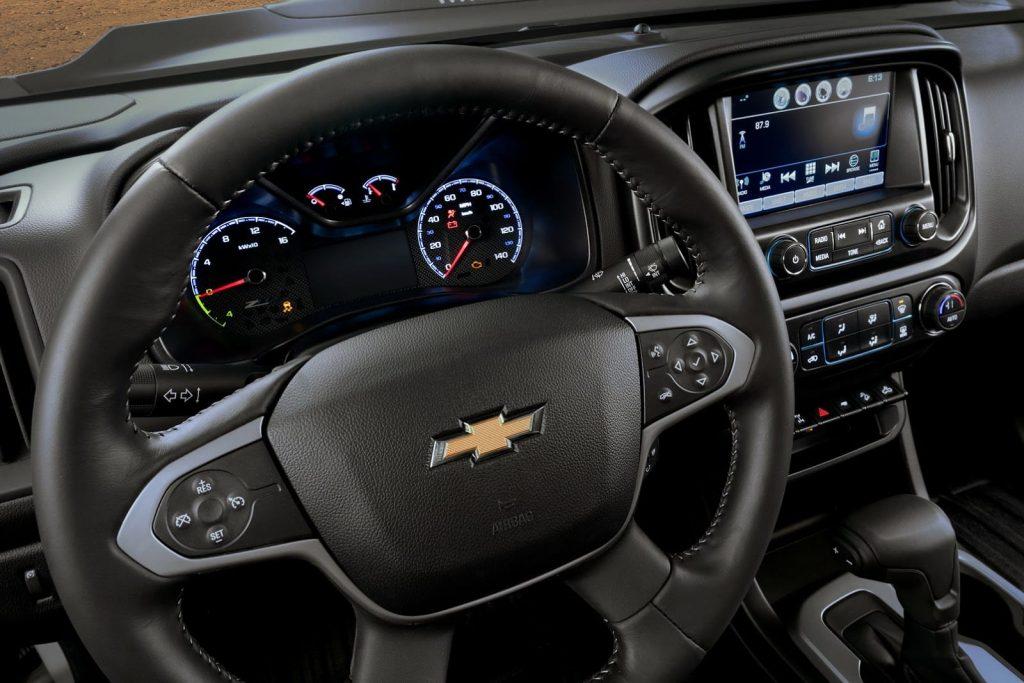 Nova Chevrolet S10 2020 - Volante, painel
