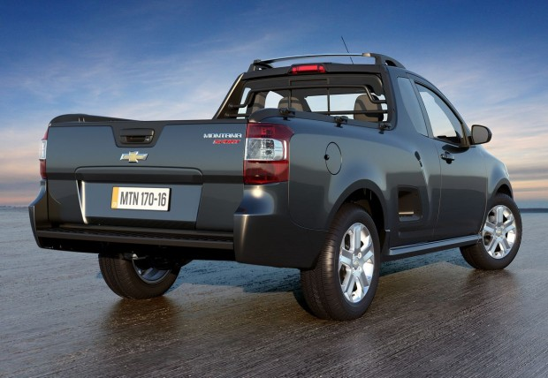 Nova Chevrolet Montana 2020 - Caçamba e traseira
