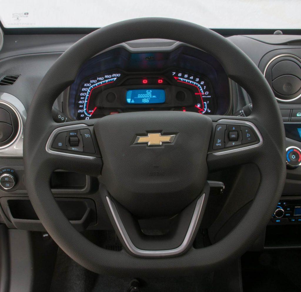 Nova Chevrolet Montana 2020 - Volante