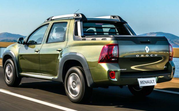 Novo Renault Duster Oroch 2020 - Caçamba