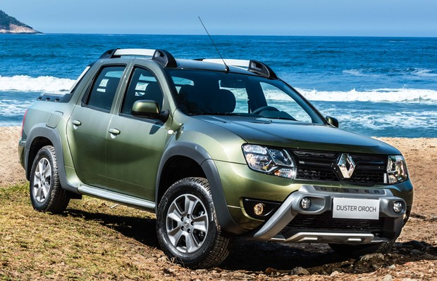 Renault Duster Oroch 2020 - Parte Frontal