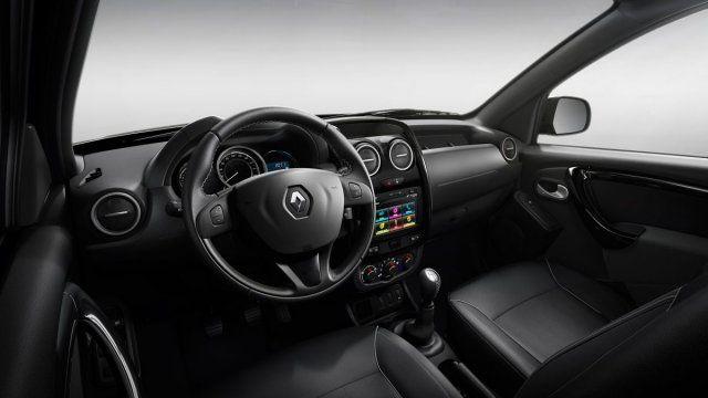 Duster Oroch 2020 - Bancos de couro, interior, por dentro