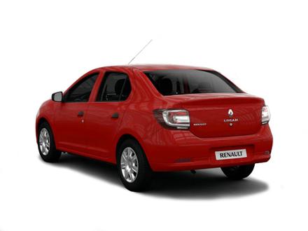 Novo Renault Logan 2020 -  Traseira, por trás