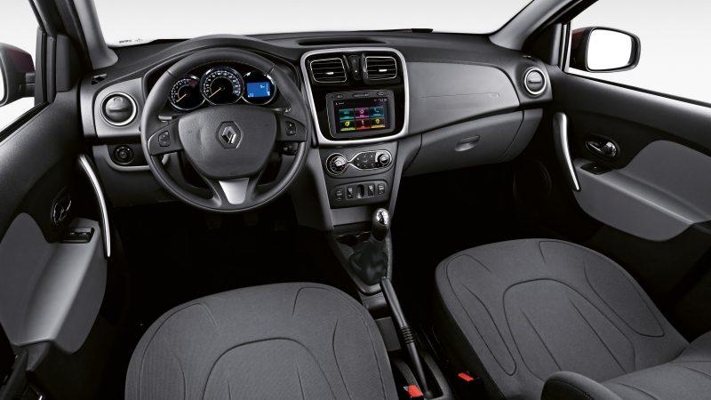 Novo Renault Logan 2020 -  Interior, por dentro, bancos