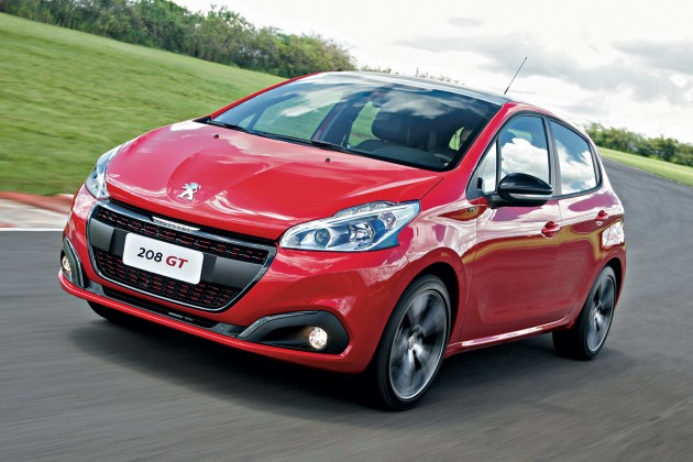 Novo Peugeot 208 2020 - Valor, frente