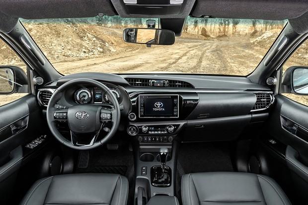 Nova Hilux 2020 - Por dentro, interior