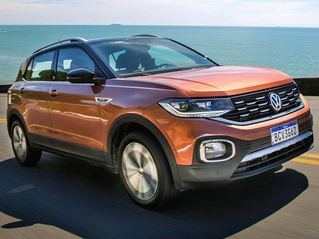 Novo T-Cross 2020 - Frente, parte frontal