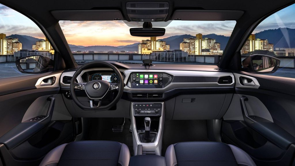 Novo T-Cross 2020 - Interior, por dentro