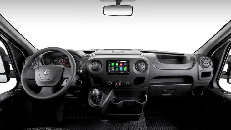 Novo Renault Master 2020 - Volante, kit multimídia