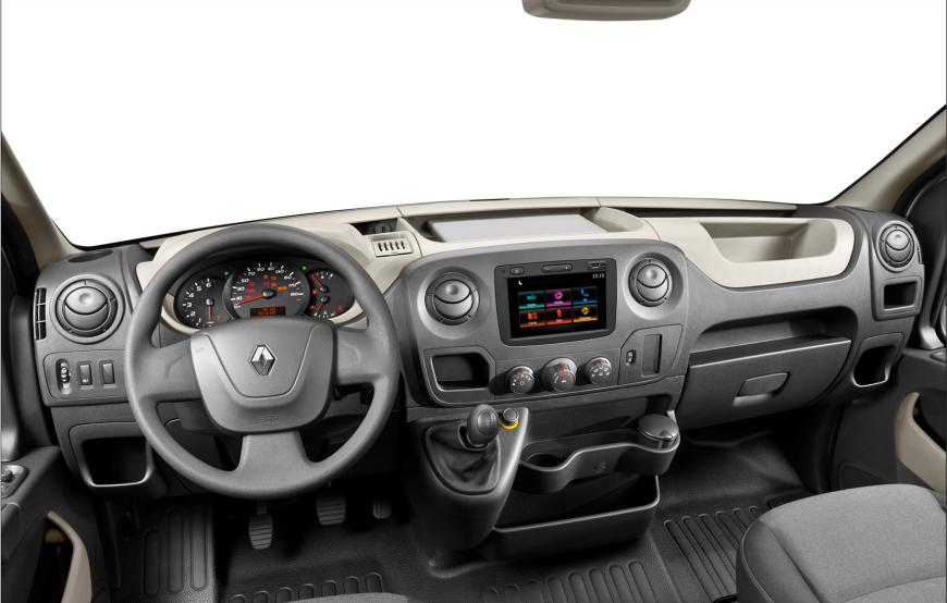 Novo Renault Master 2020 - Interior, painel, por dentro