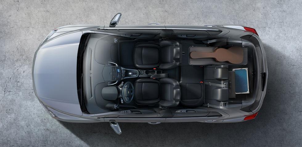 Tracker 2020 - Interior, por dentro