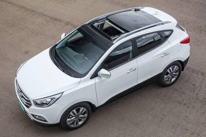 Novo Hyundai ix35 2020 - Teto solar