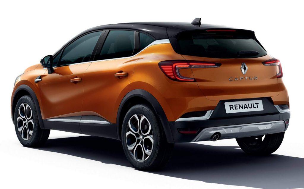 Novo Renault Captur 2020 - traseira