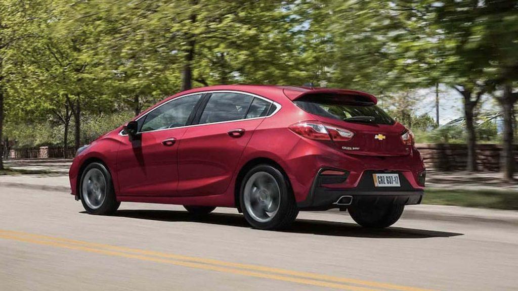 Novo Chevrolet Cruze Sport6 2020 - Traseiro