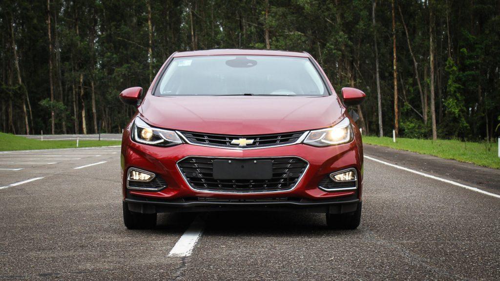Novo Chevrolet Cruze Sport6 2020 - Parte Frontal