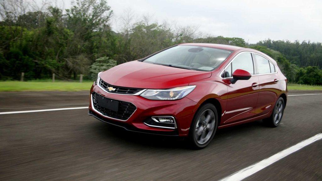 Novo Chevrolet Cruze Sport6 2020 - Lateral