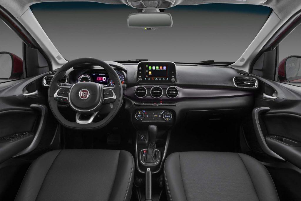 Novo Fiat Cronos 2020 - interior, por dentro, painel